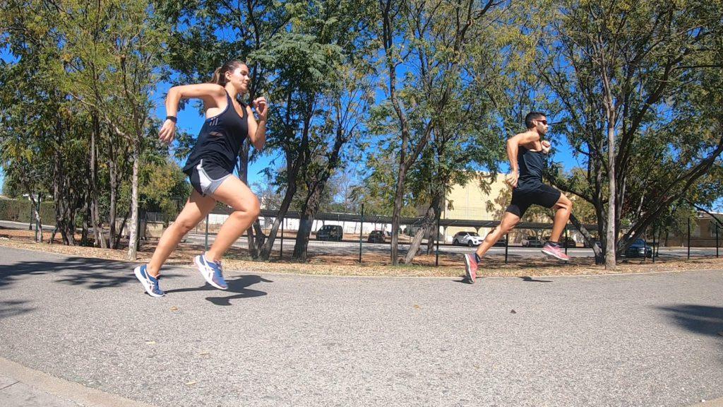 ponerse en forma corriendo