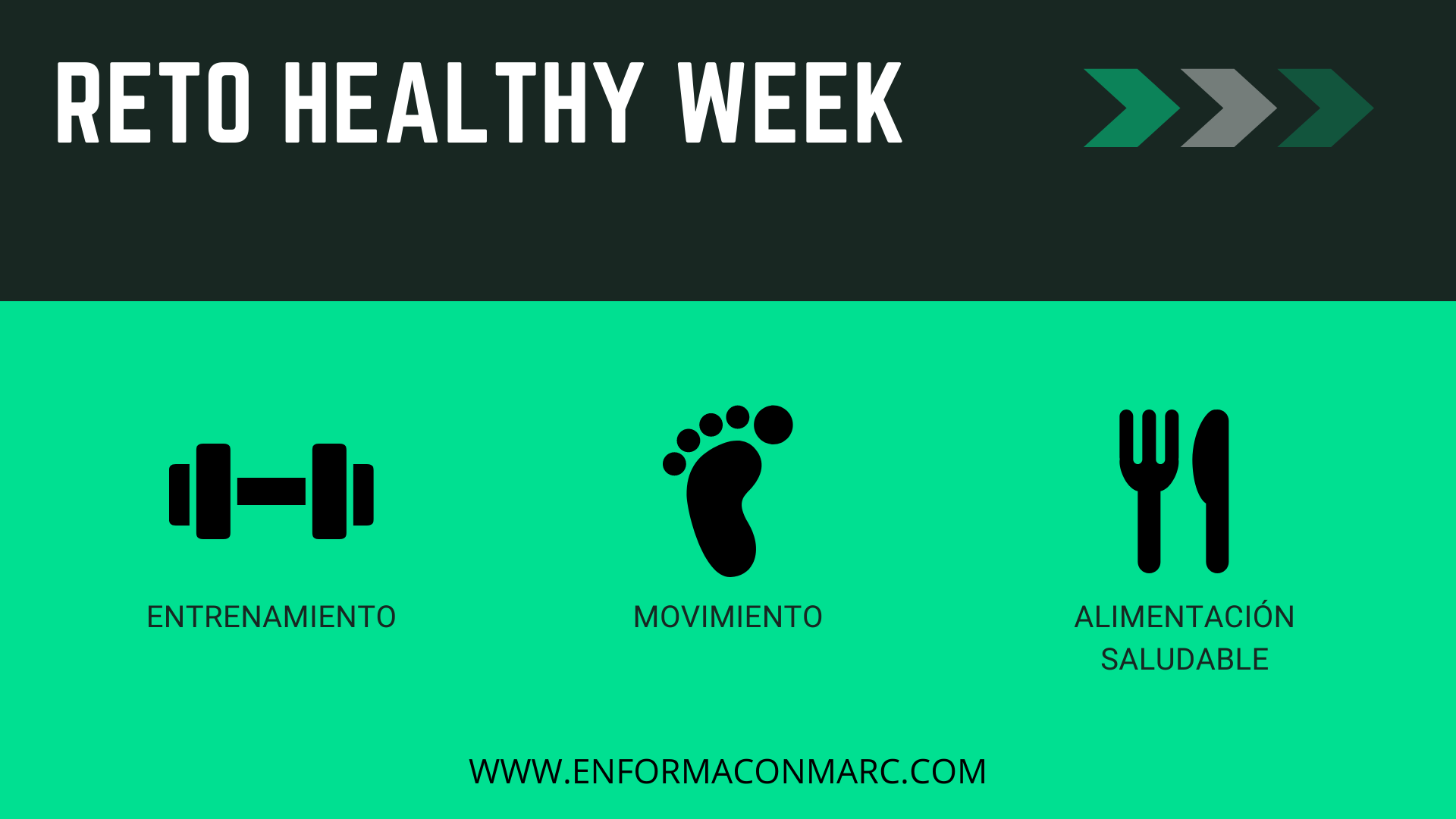 reto healthy week